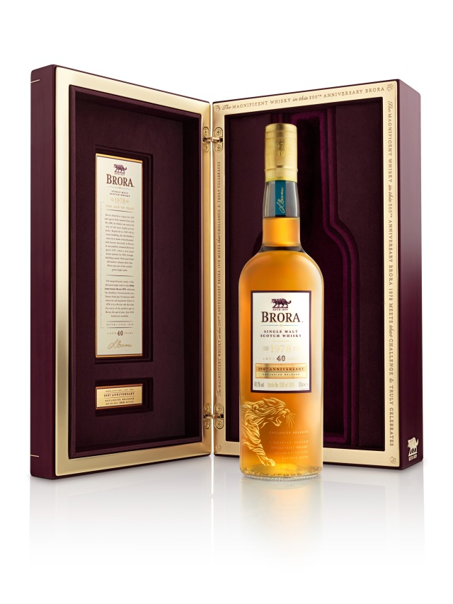 Brora releases 40 Year Old 200th Anniversary Edition