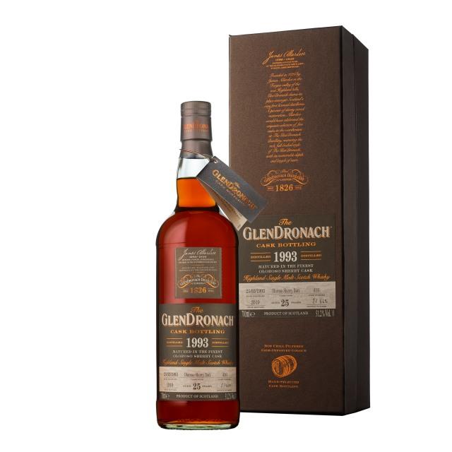 The GlenDronach 25 Years Old 1993 Oloroso Butt #416 (51.2%, OB, Batch 17, 663 Bottles, 2019)