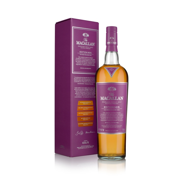 INTRODUCING EDITION NO.5; A CELEBRATION OF THE MACALLAN'S NATURAL COLOUR
