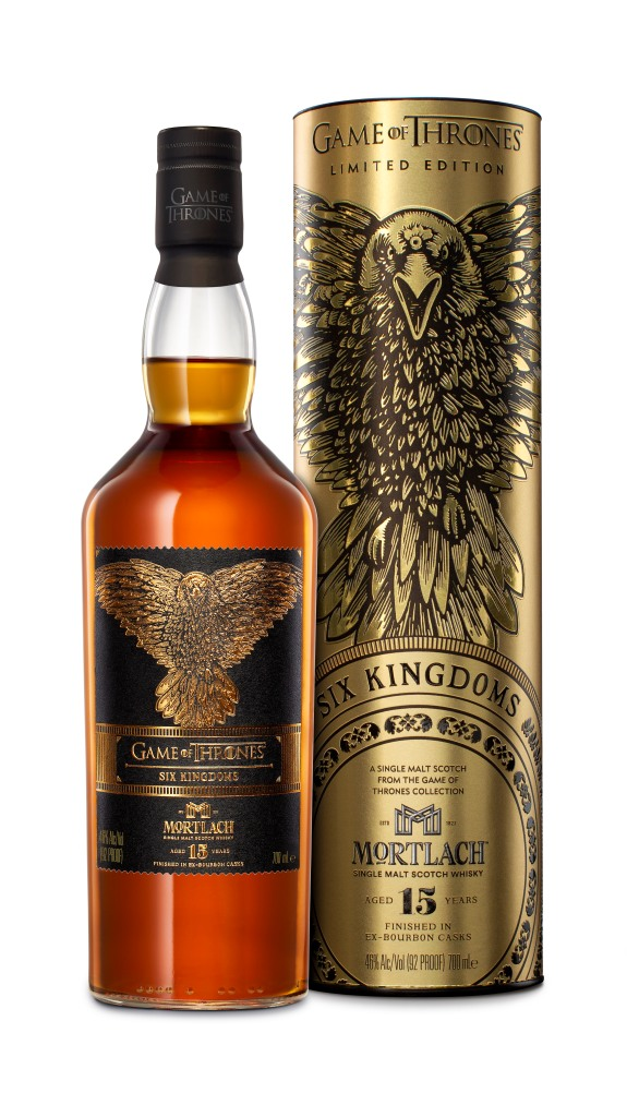 Game of Thrones Six Kingdoms Mortlach Aged 15 Years Bottle Packaging_UK