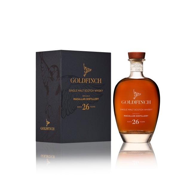 Goldfinch Macallan 26Bottle and Pack