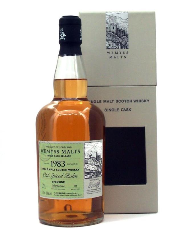 Dailuaine-1983-2013-Wemyss-Old-Spiced-Balm-29-years-old