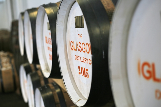 Glasgow Distillery Casks