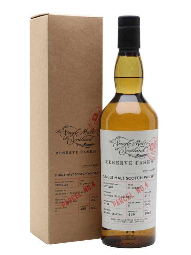 Aultmore-9-Years-Old-Reserve-Cask-Parcel-No4