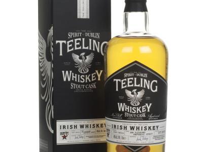 Teeling stout cask finish whisky
