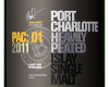 Port Charlotte PAC: 01 single malt whisky
